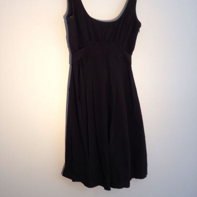 CUE Black Dress Size 8
