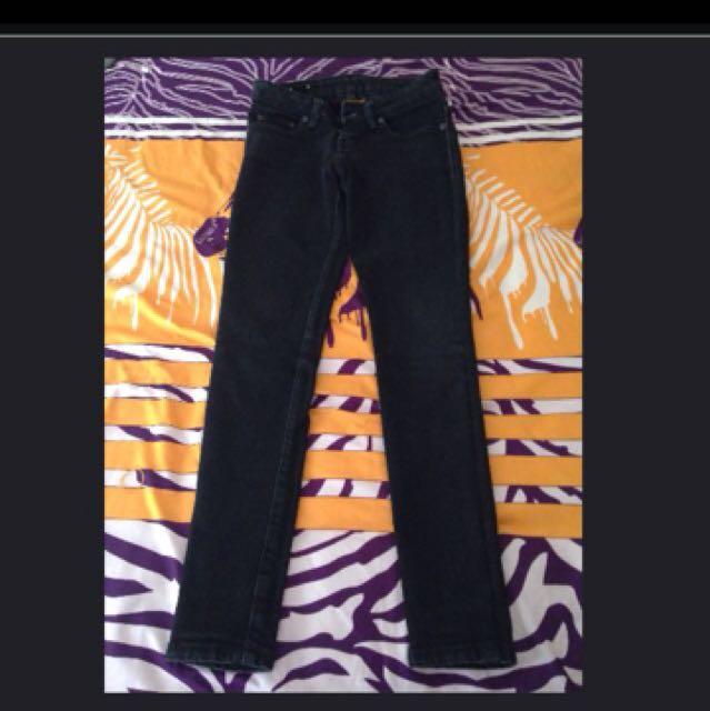 Dust Black Jeans