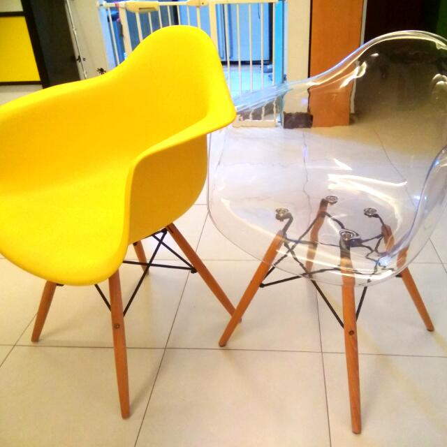 Arm Replica ChairyellowFurnitureTablesamp; Eames Design Chairs 6f7Ygby
