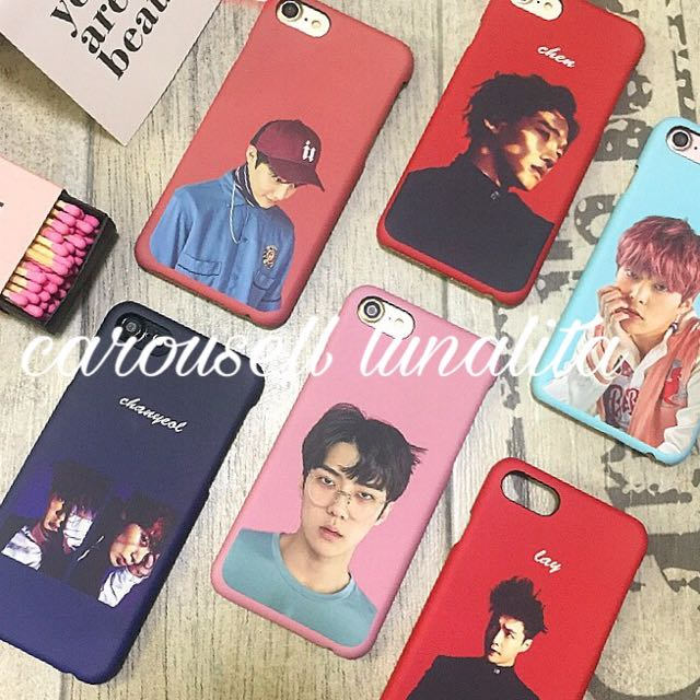 Exo Iphone Case Mobile Phones Tablets Iphone Iphone 7 Series On Carousell
