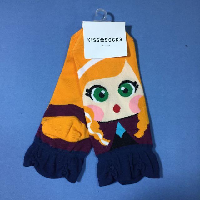 Frozen Anna Socks