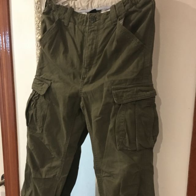 Gap Kids Cargo Pants Military Green