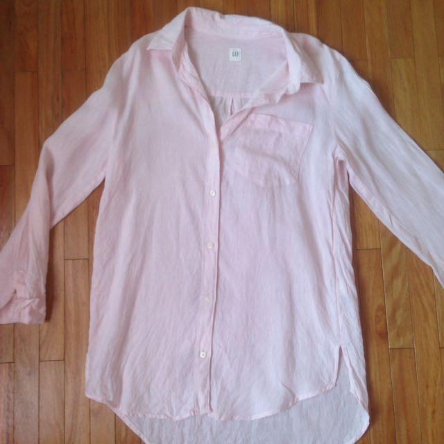 GAP-baby pink Shirt