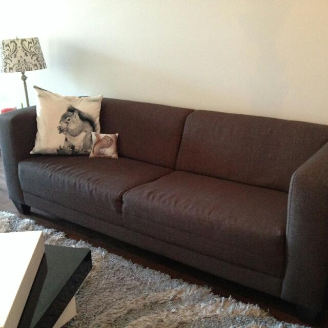 Grey EQ3 Stella Couch