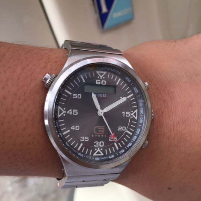 Guess Steel Watches ⌚️ Ori