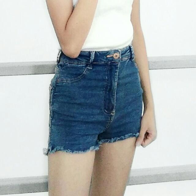 Bershka Highwaist Shorts