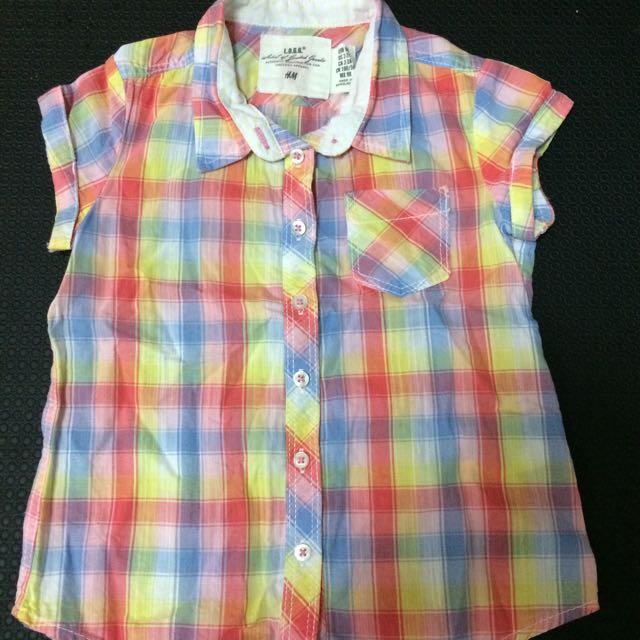 H&M小孩襯衫