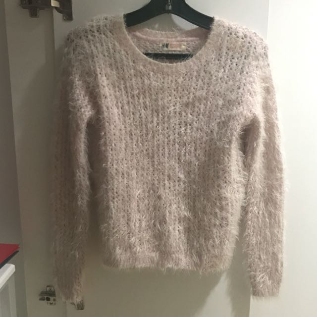 H&M Light Pink Knit Sweater, Preloved Women's Fashion, Clothes on ...