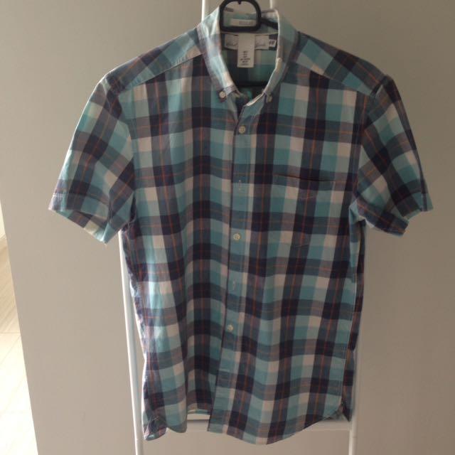HnM Shirt Blue