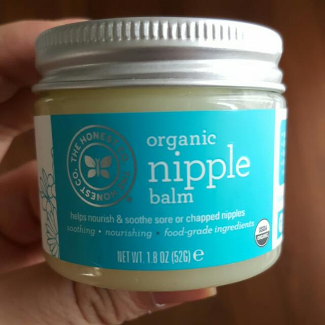 Honest Co. Organic Nipple Balm
