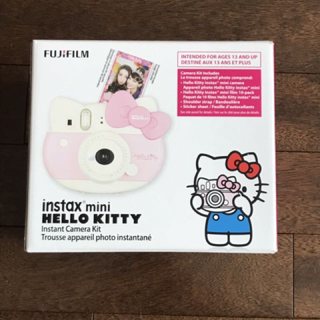 INSTAX MINI HELLO KITTY CAMERA