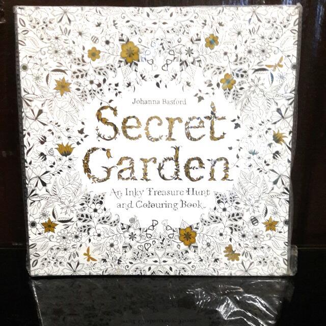 Johanna Basford S Secret Garden