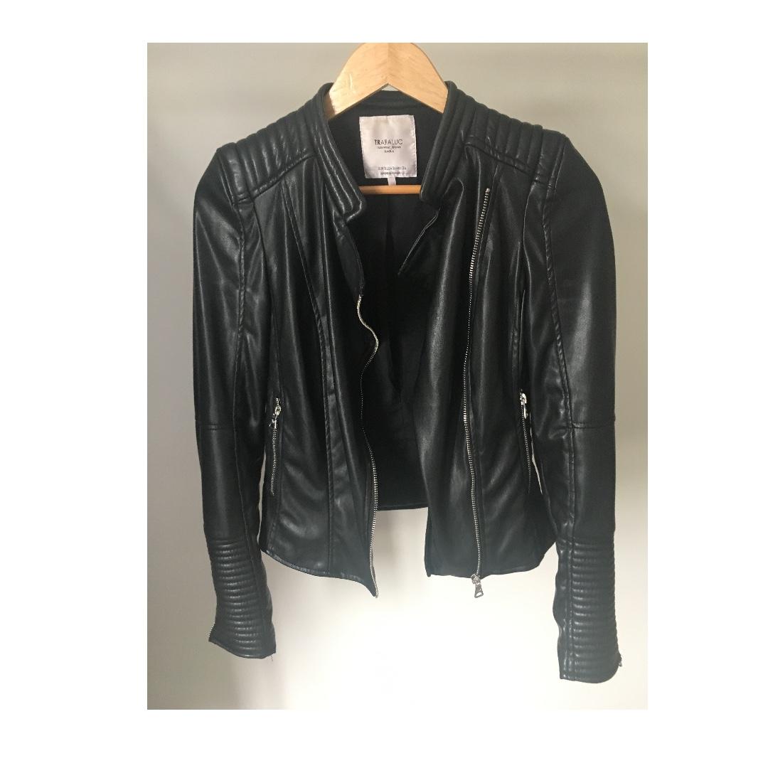 leather jackef
