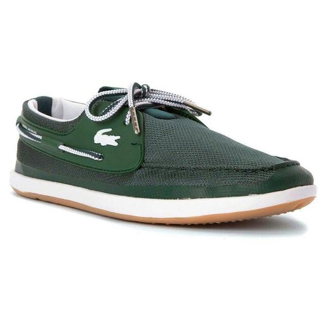 6700204c8ae2a3 Limited Edition Lacoste Men s L.andsailing Canvas Boat Shoes