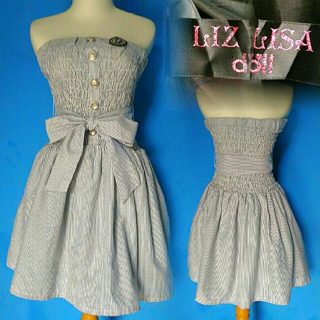 Liz Lisa Doll Tartan Dress