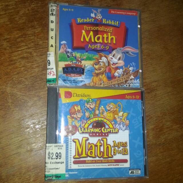 MATH Learning CD's