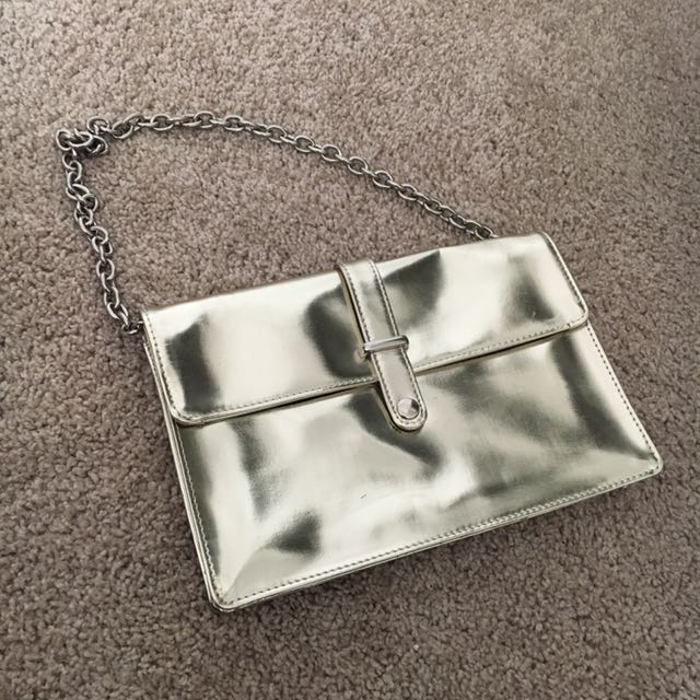 Metallic Evening Clutch By Cosgrove & Beasly