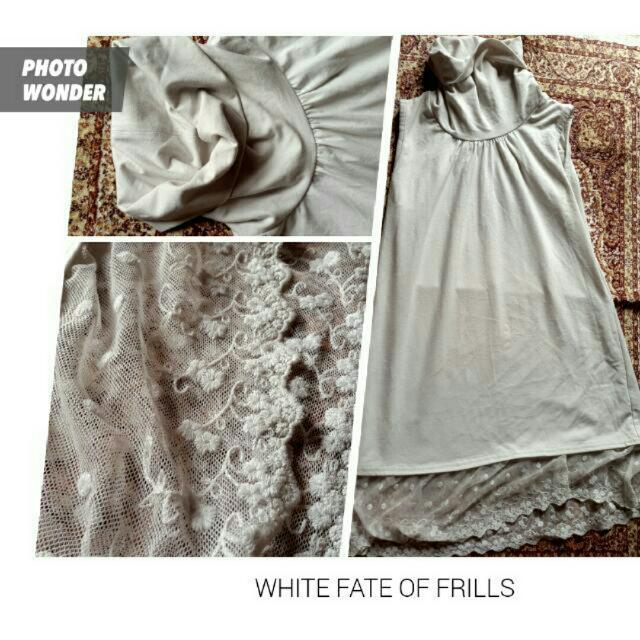Mini Dress Putih (Buy One Get One Free, Boleh Barter)