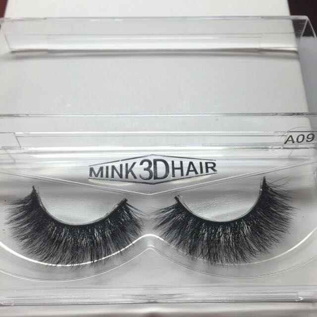 Mink Hair False Lashes (A09)