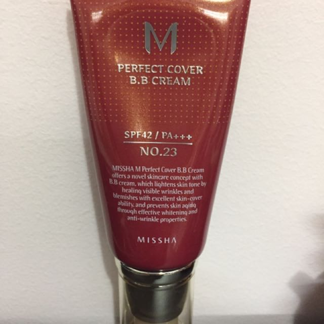 Missha Perfect Cover BB CREAM shade 23