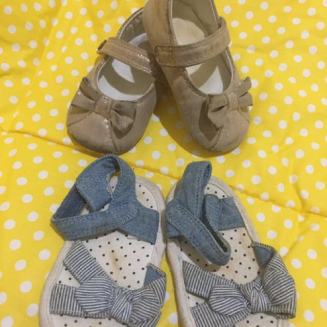 Mothercare Shoes & Sandal (2 Pairs)