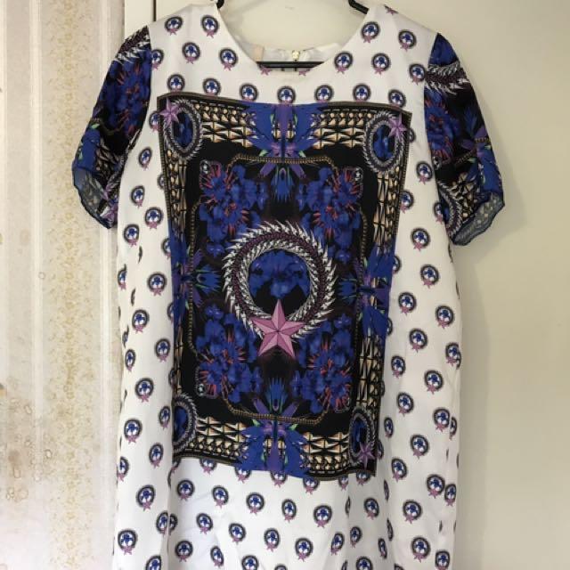 Nana For You Printed Dress