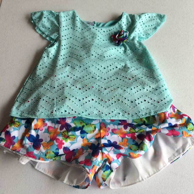 New! Francesca Blouse And Shorts