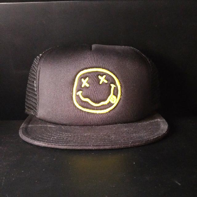Nirvana Snapback Cap
