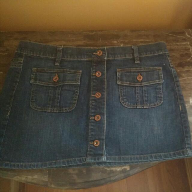 Old Navy Jeans Skirt