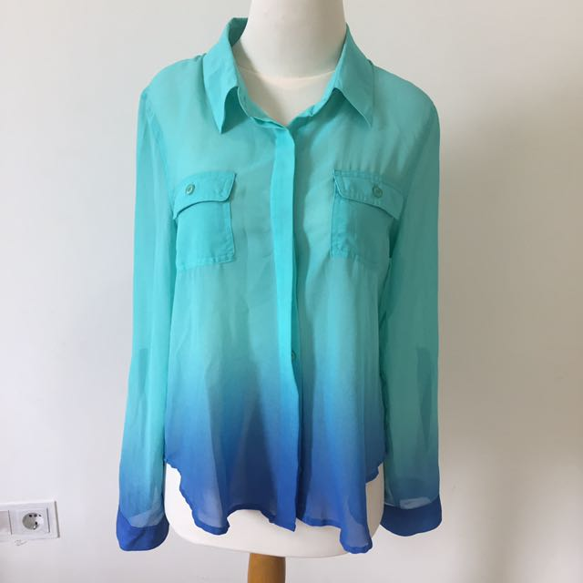 Ombre Blue Shirt