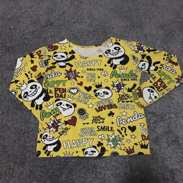 Panda Long Sleeves