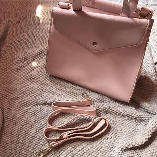 pastel pink zalora bag!👜