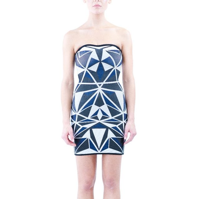 Pattern Bandage Dress