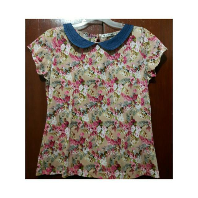 Pd&co Floral Top