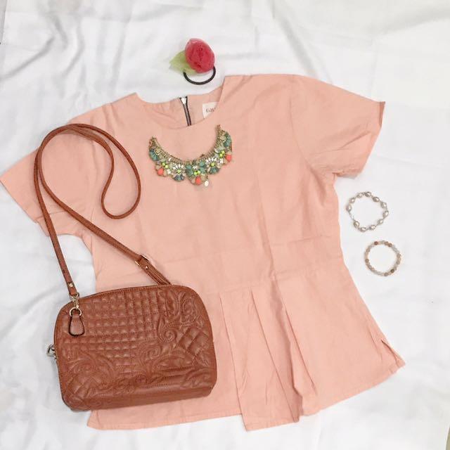Peach Blouse by GAUDI