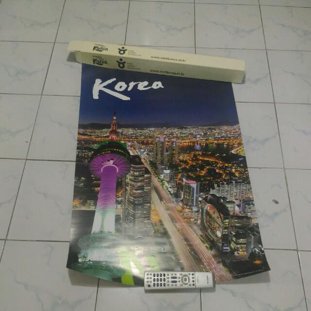 Poster Seoul Tower + Box