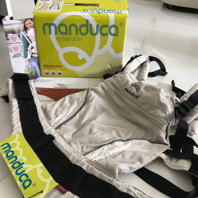 Preloved Manduca Baby Carrier With Box And Instructions For Use