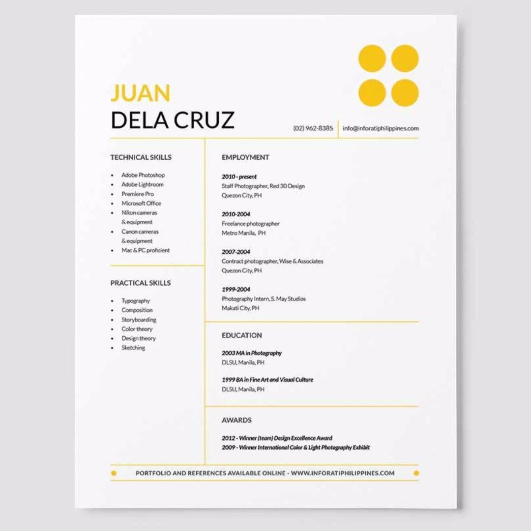 Professional Resume Writing Service And Curriculum Vitae Writing