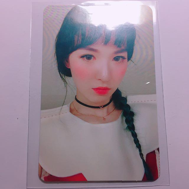 (只要出價就可賣出)Red Velvet Wendy Rookie小卡
