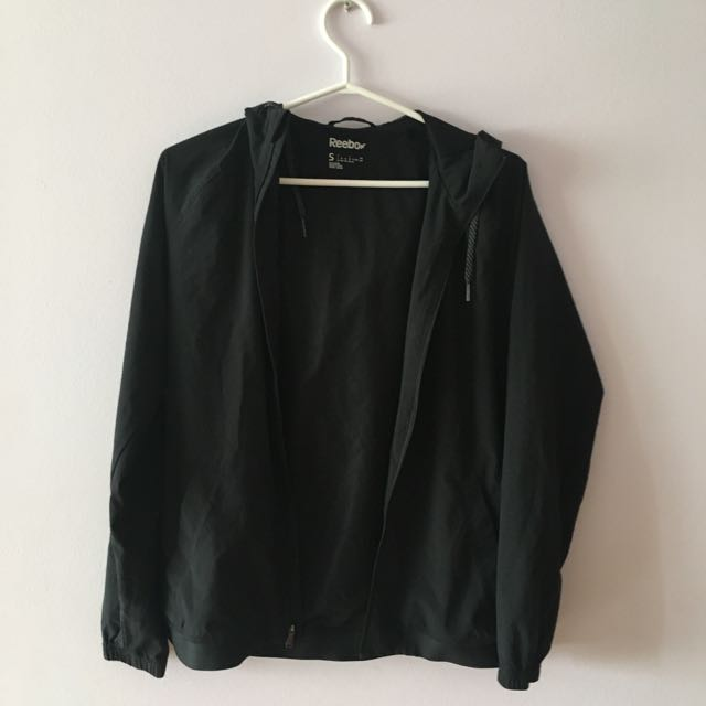 Reebok Small black Windbreaker