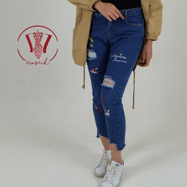 Ripped Jeans Patch