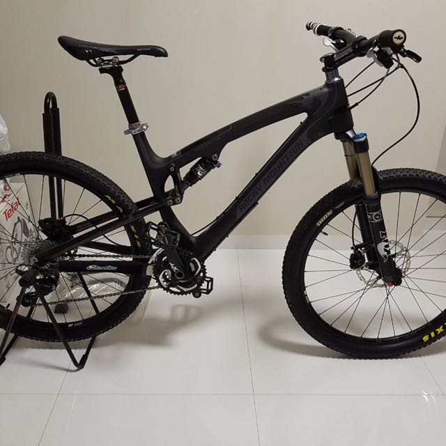 8efcb06bc2a Rocky Mountain Full Suspension Carbon Mountain Bike, Element 70 MSL ...