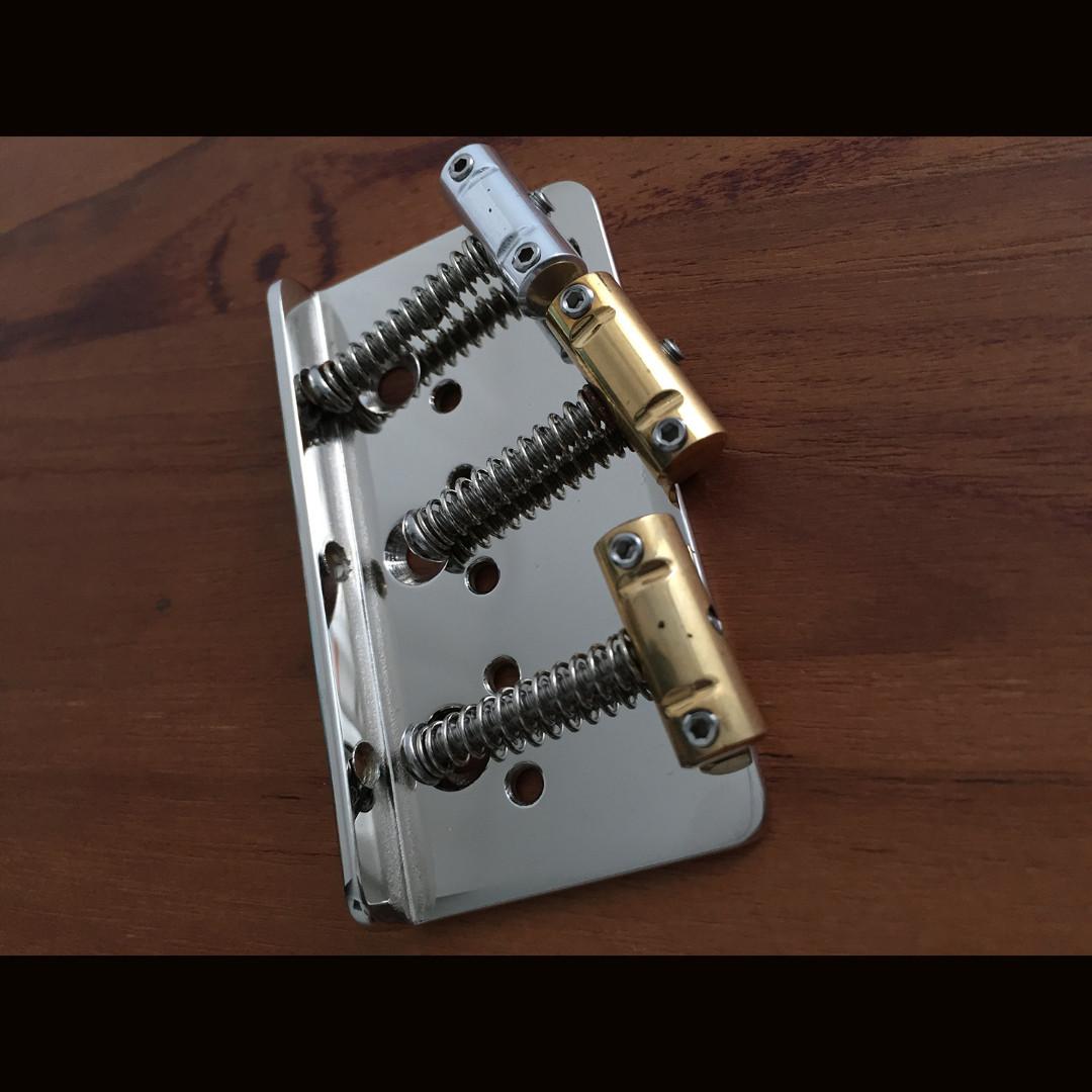 Rutters Guitars Hardtail Bridge