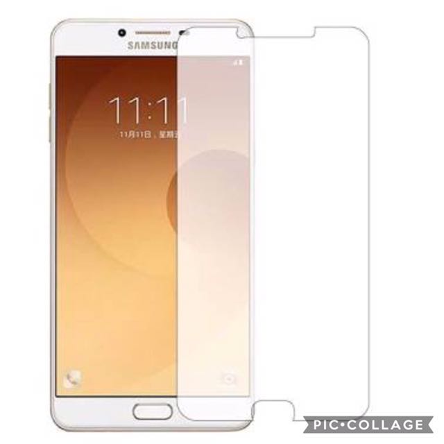 Samsung C9 Pro Tempered Glass Screen Protector.