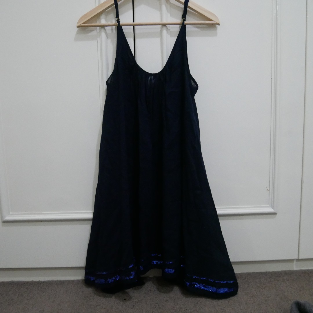 Seafolly navy dress - size S
