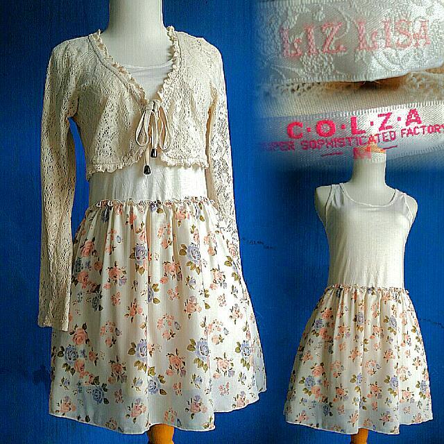Set Liz Lisa Bolero & Colza Dress