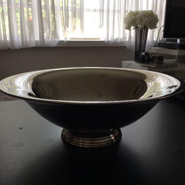 Silver Decorative Bowl