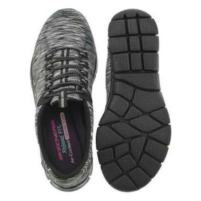 Skechers 12414 Bkcc Women's Relaxed Fit: Empire-game On Walking