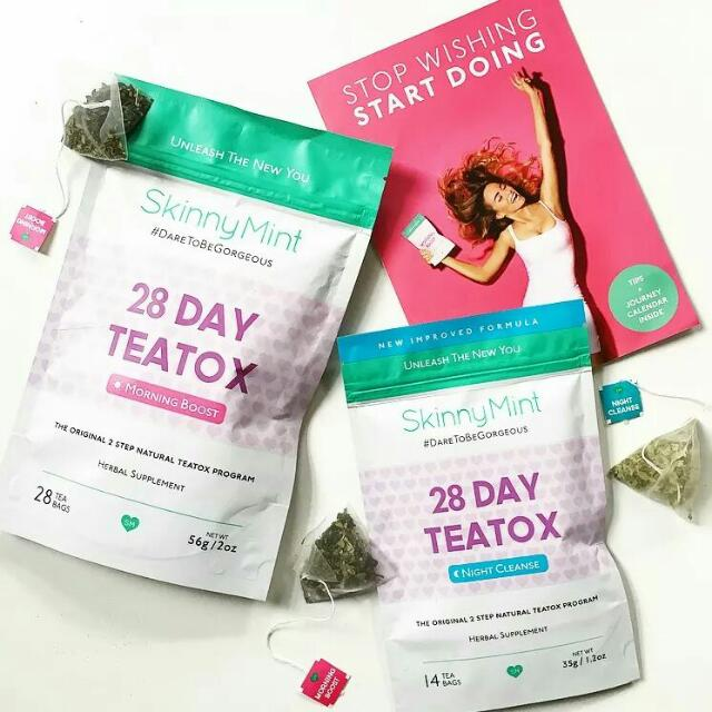 SkinnyMint 28 Day Teatox Slimming Tea