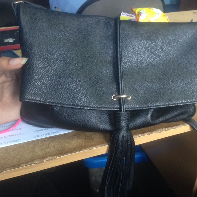 Sling bag h&m black